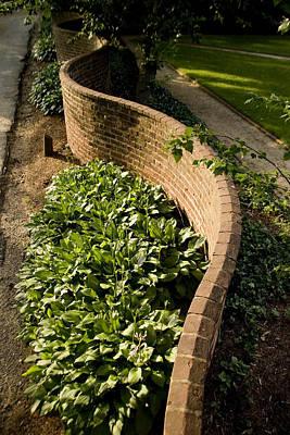 Serpentine Photograph - Serpentine Walls As First Designed by Stephen St. John