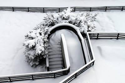 Sestriere Spring Snow Print by Edoardo Angelucci
