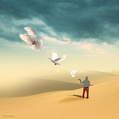 Landscapes Digital Art - Set Me Free Again  by Mark Ashkenazi