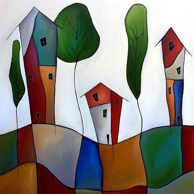 Settling Down Original by Tom Fedro - Fidostudio