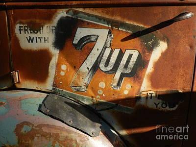 7up Sign Photograph - Seven Up by Robert Ball