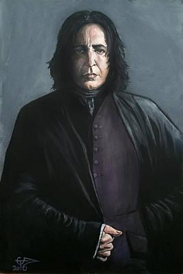 Severus Snape Print by Tom Carlton