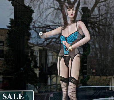 Sexy Fetish Doll In Sexy Undies Print by Robert Frank Gabriel