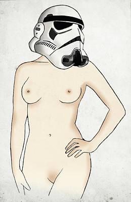 Digital Drawing - Sexy Stormtrooper by Nicklas Gustafsson
