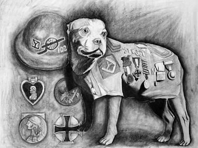 Sgt. Stubby Original by David Blythe