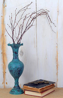 Shabby Chic Print by Perry Correll