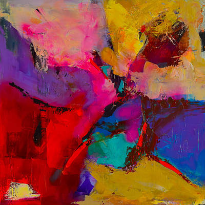 Abstraction Painting - Shades Of Colors - Art By Elise Palmigiani by Elise Palmigiani
