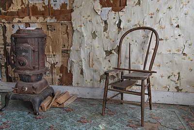 Mining Photograph - Shades Of Past Warmth by Leland D Howard