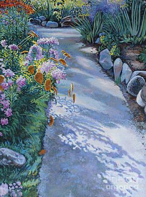 Bukowski Painting - Shadow And Path by William Bukowski