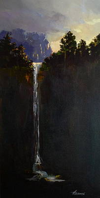 Painting - Shadow Falls by Helen Harris
