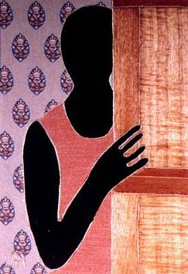 Painting - Shadow In Doorway by Valerie X Armstrong