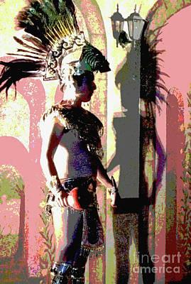 Traditional Folk Dance Digital Art - Shadow Of The Past by Anna  Duyunova