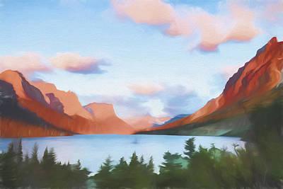 Shadowing Goose Island II Print by Jon Glaser