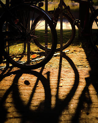 Shadows In The City Print by Miguel Winterpacht