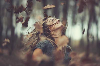 Oak Photograph - Shake It Up by Arnold Eszenyi