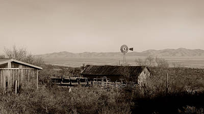 Las Cruces Photograph - Shakespeare Ghost Town by Gordon Beck