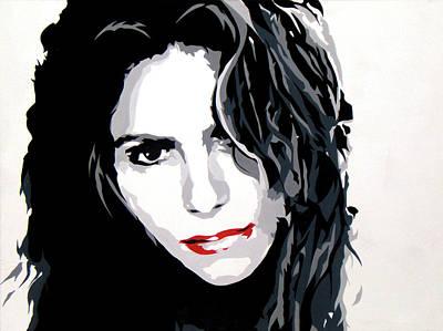 Shakira Painting - Shakira by Michael James  Toomy