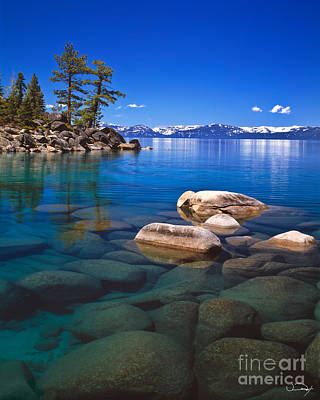 Tahoe Photograph - Shallow Water by Vance Fox