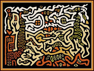Esprit Mystique Digital Art - Shaman Voodoo Spirits by Witches Hammer - Virginia Vivier