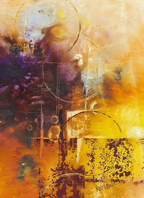 Abstract Painting - Shapes And Colors by Ken McBride
