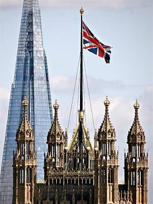 Shard And Crown Original by Ira Shander