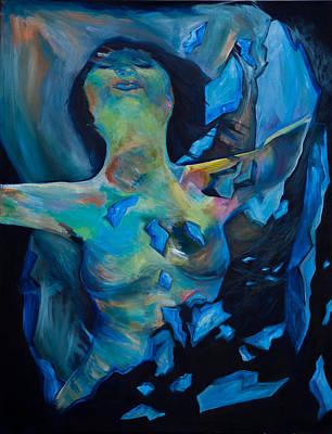 Shards Painting - Shards by Nadia Alamah