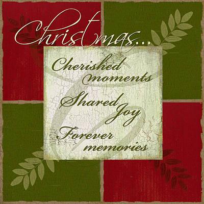 Joy Mixed Media - Shared Joy At Christmas by Marilu Windvand