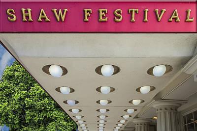 Shaw Festival Print by Paul Wear