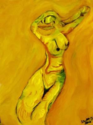 She Dances Print by Shelley Bain