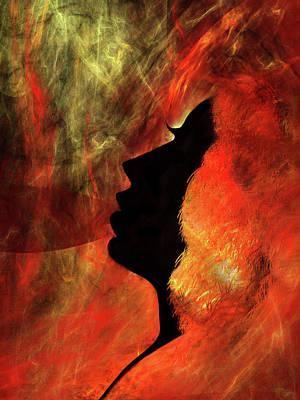 Digital Art - She Is Fire by Paul St George
