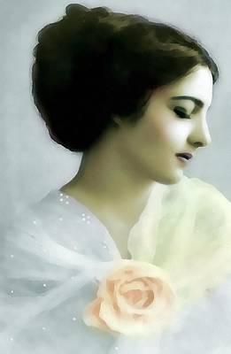 Sheer Elegance Original by Georgiana Romanovna