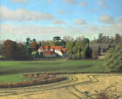 Sheering Hall Near Harlow Essex Print by Richard Harpum