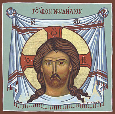 Greek Icon Painting - Sheet by Michael Courey