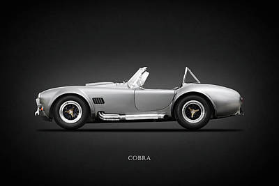Motor Sports Photograph - Shelby Cobra 427 Sc 1965 by Mark Rogan