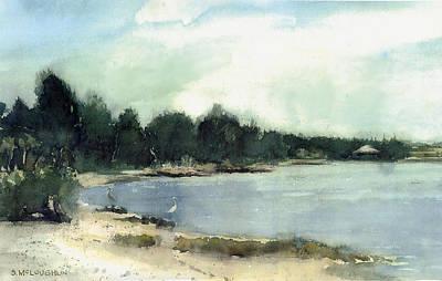 Shawn Painting - Shell Beach by Shawn McLoughlin