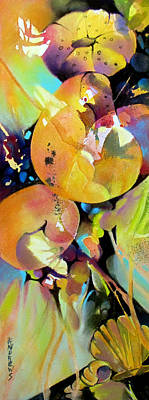Shell Pastel Painting - Shell Design by Rae Andrews