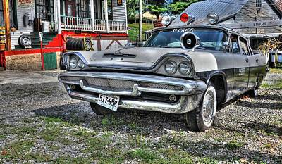 Esso Photograph - Sheriff Car 1 by Todd Hostetter