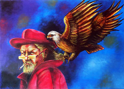 Sherlock Holmes Sharp As An Eagle Original by Arun Sivaprasad