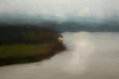 Shiloh River View Print by Jai Johnson