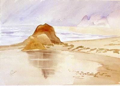 Shining Sands Print by Leo Chiantelli