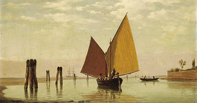 Painting - Shipping Scene Venice by Pietro Galter