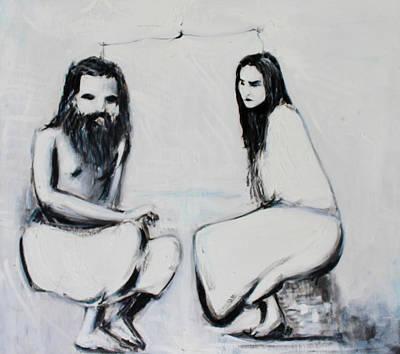 Tantra Painting - Shiva-shakti by Alexander Carletti