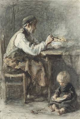 Israel Painting - Shoemaker by Celestial Images