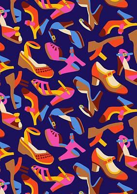 Shoe Digital Art - Shoes by Sholto Drumlanrig
