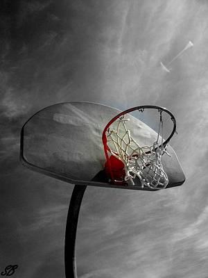 Basketball Photograph - Shoot by Sarah Bauer