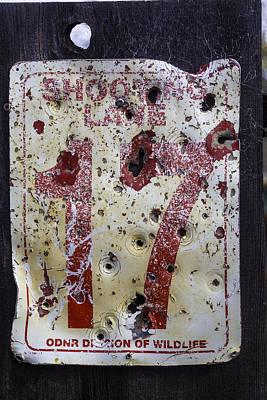 Beaten Up Photograph - Shooting Lane 17 by Garry Gay