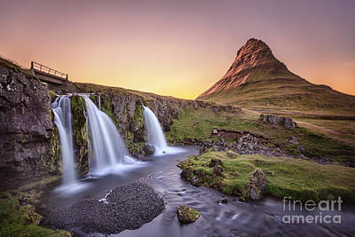 Nordic Photograph - Short Summernights Of Eternal Twilight by Evelina Kremsdorf