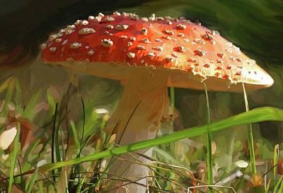 Mushroom Painting - Shroom Time by Patti Siehien