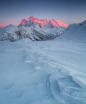 Mountain View Photograph - Shuksan's Shine by Ryan McGinnis