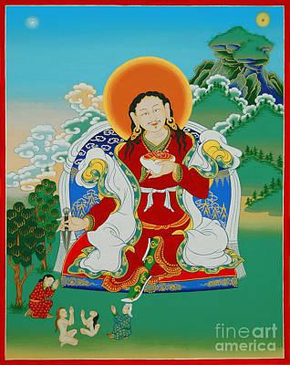 Tantra Painting - Shupu Palgyi Senge by Sergey Noskov